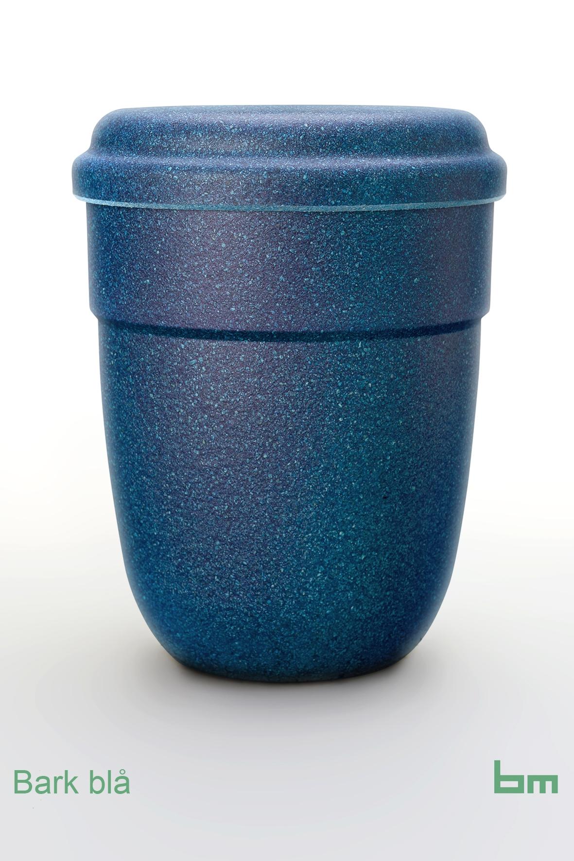 Bark blå