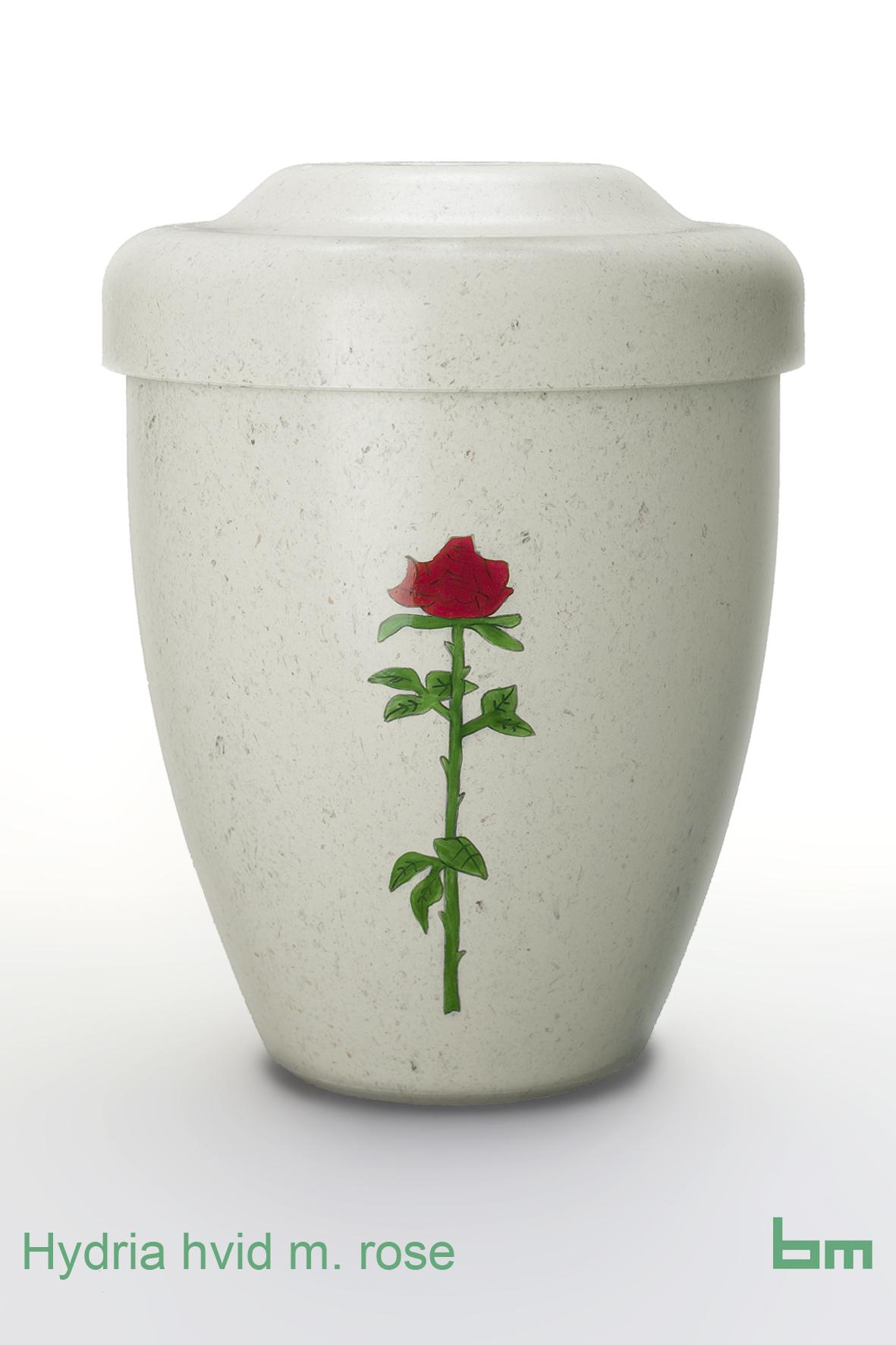 hydria hvid m rose
